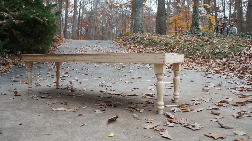 bench during