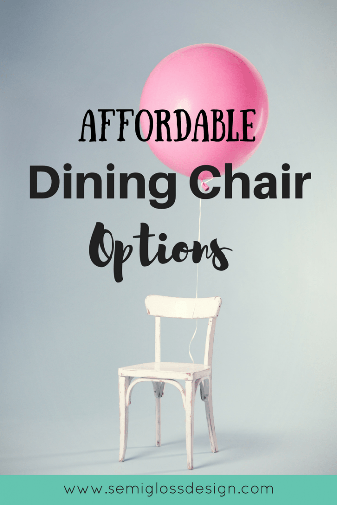 budget friendly dining chairs
