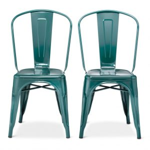 teal farmhouse style chair