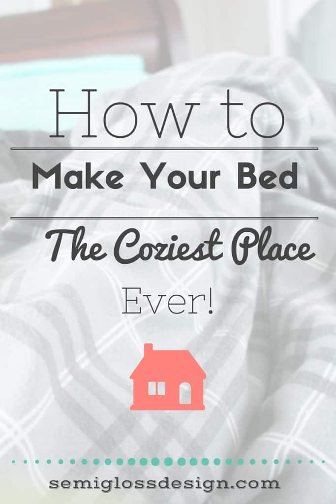 The secret to a cozy winter bed