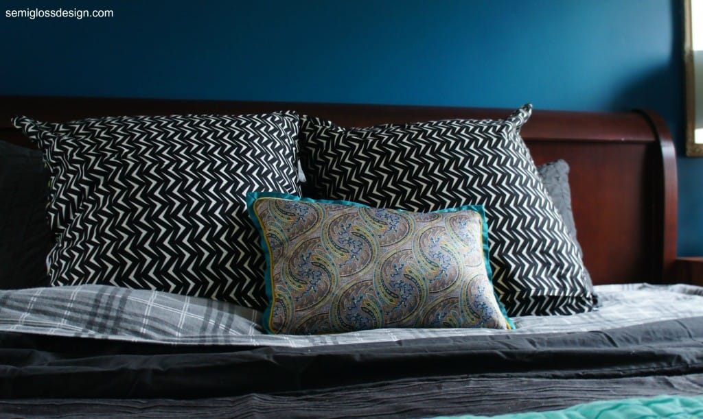 What to pair with plaid flannel sheets