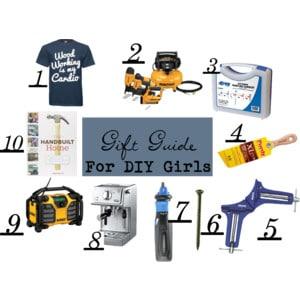 Gift Guide for DIY Girls