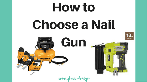 Is a pneumatic or cordless nail gun right for you? Learn how to choose a nail gun for your specific needs and projects with this comparison of pneumatic and battery powered nail guns.