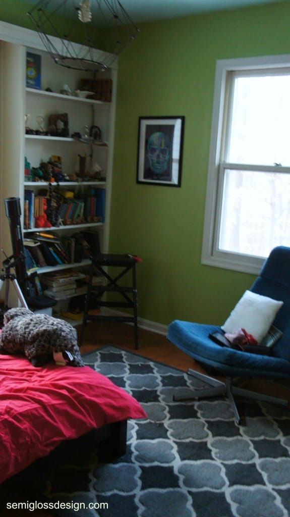 room makeover process