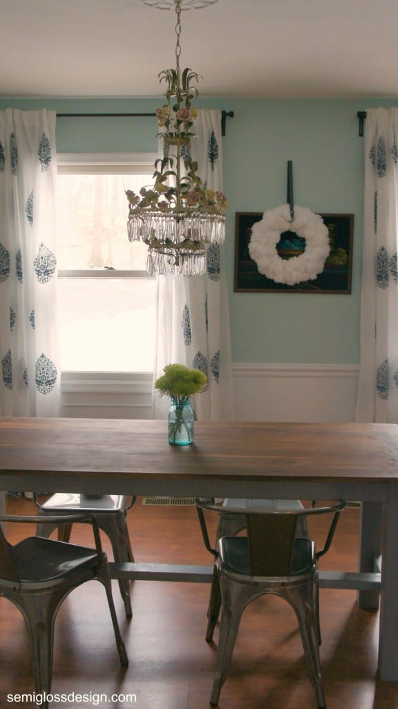 Dining Room Chair Update Semigloss Design