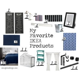 My Favorite IKEA Products