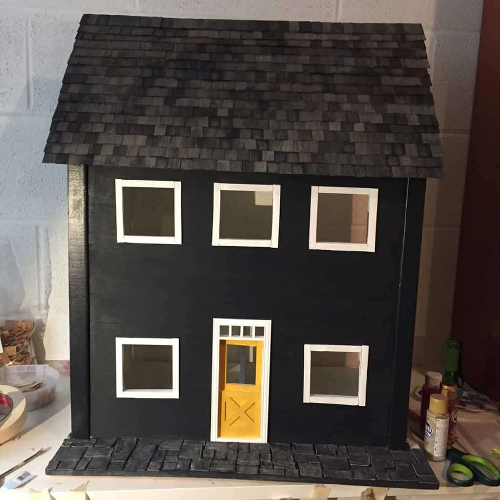 dollhouse roof
