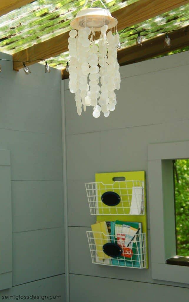 Treehouse chandelier