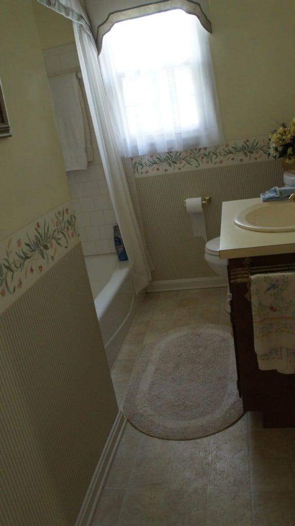 Before image of Bathroom