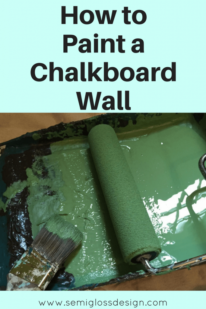 chalkboard wall | how to paint chalkboard | chalkboard wall ideas | chalkboard wall kitchen | green chalkboard wall | chalkboard wall tips