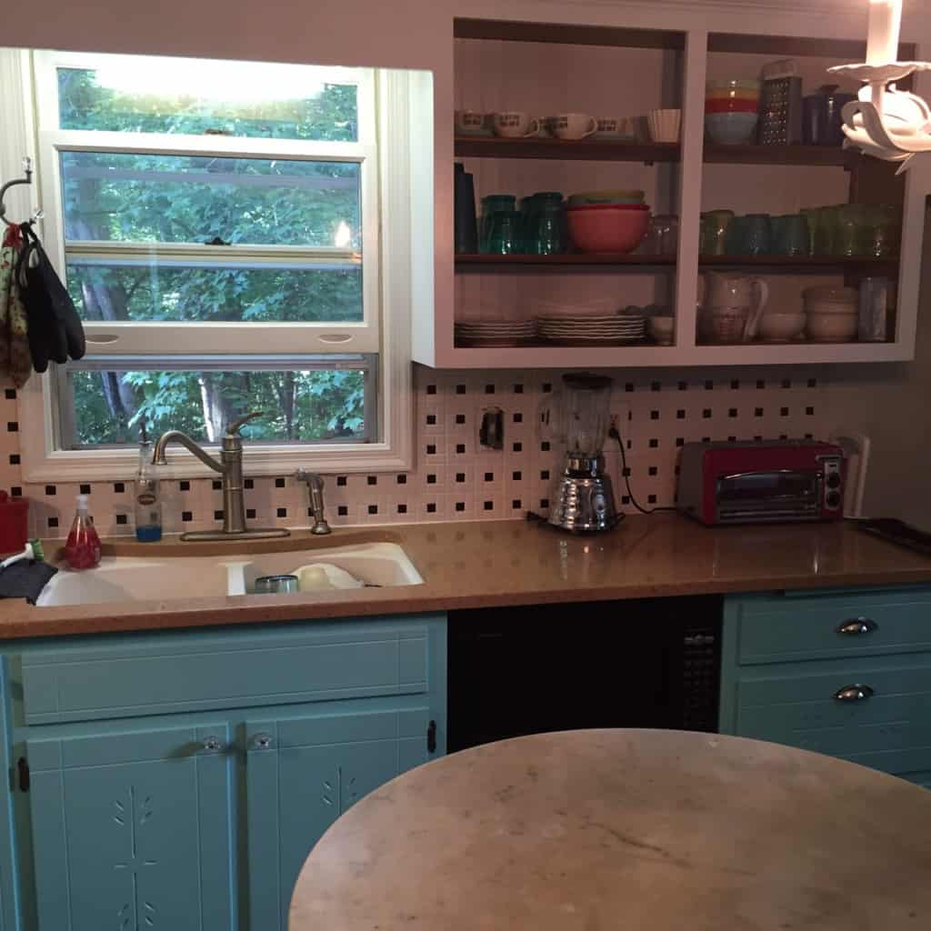 Home tour before and after semigloss design for 1925 kitchen designs