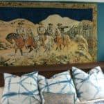 My New Vintage Cowboy Tapestry