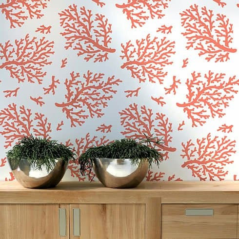 coral-beach-decor-wall-pattern