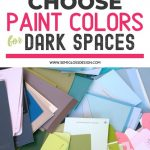 pin image - colorful paint swatches