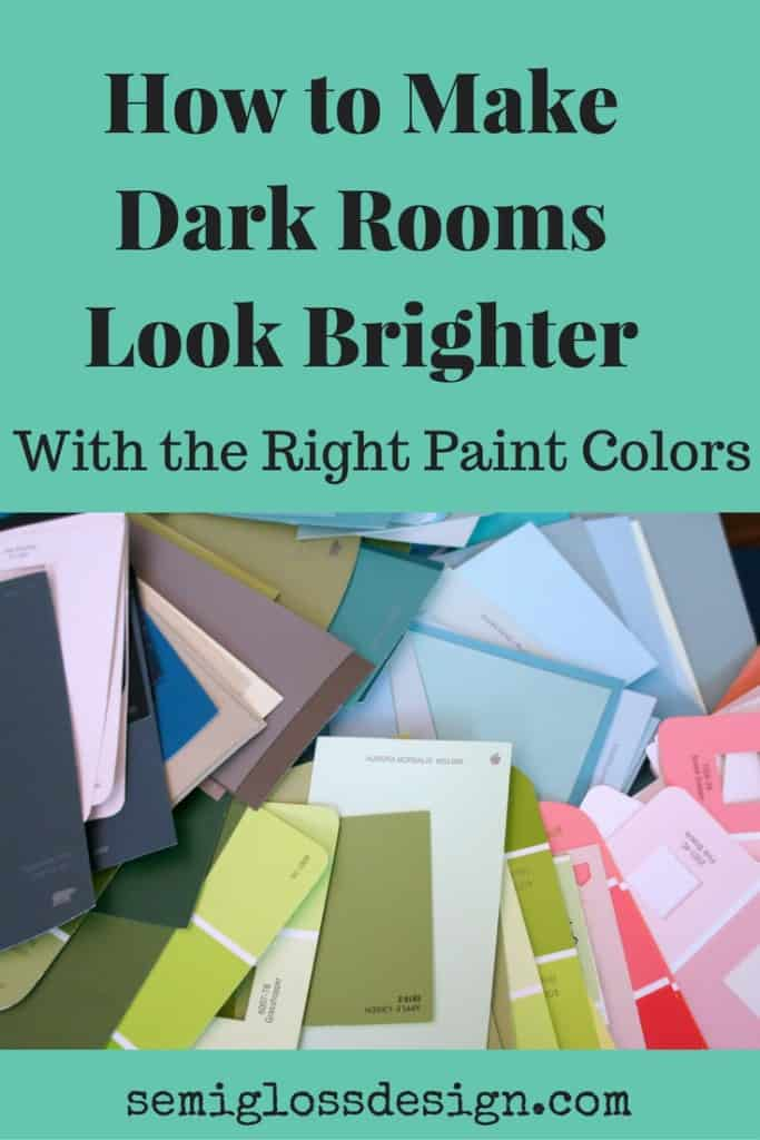 How To Choose Paint Colors For Dark Rooms
