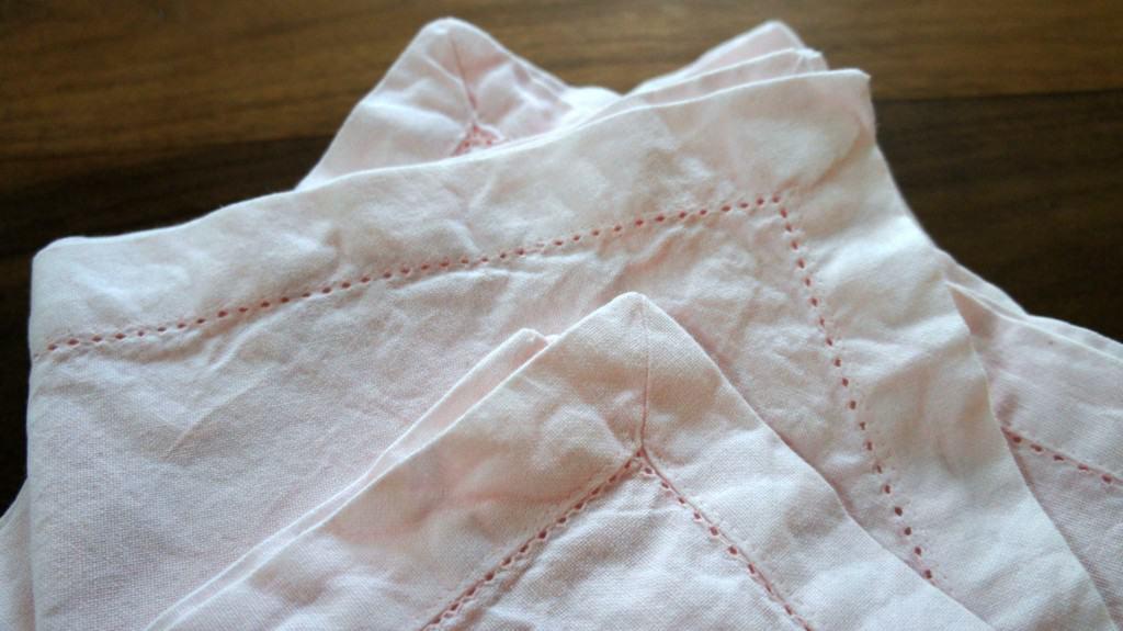 dyed fabric napkins