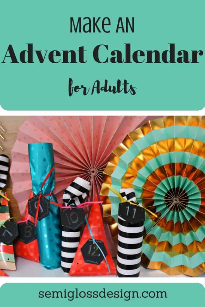 fun adult advent calendar
