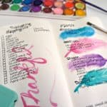 Fall in Love with Menu Planning in a Bullet Journal
