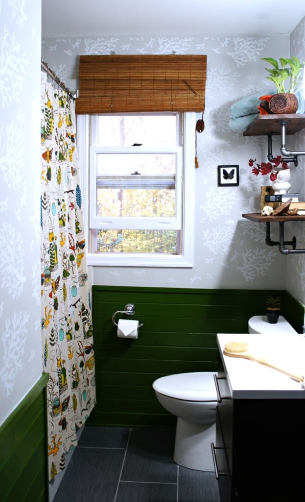 moonrise kingdom inspired bathroom