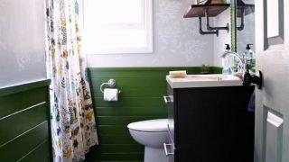 Moonrise Kingdom Inspired Bathroom Reveal