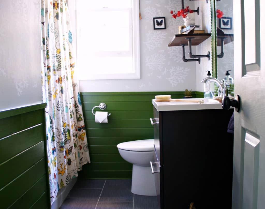 Orc Moonrise Kingdom Inspired Bathroom