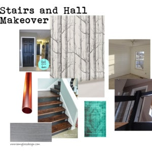 Plans for my stairs and hallway