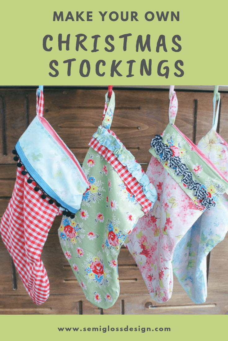 Learn how to make handmade stocking
