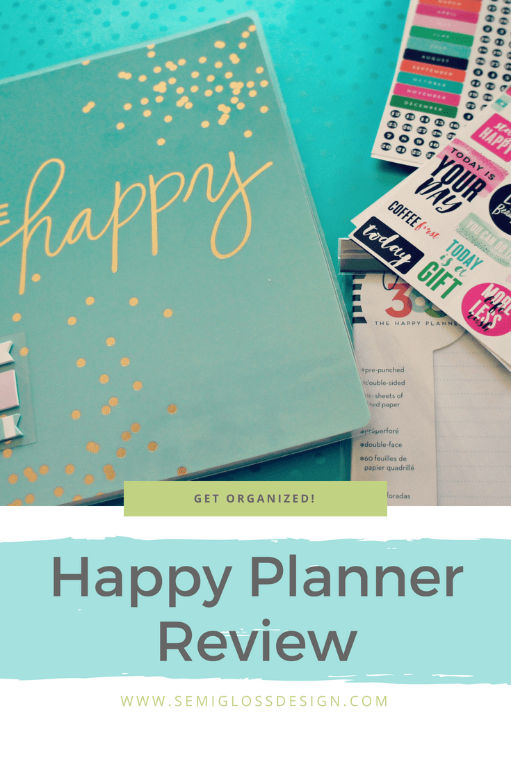 My honest Happy Planner review of what I love and what I could do without. Spoiler alert: I love it so much that I've bought it 2 years in a row.