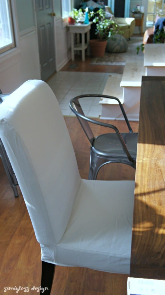 ikea henriksdal chair size comparison to farmhouse chair