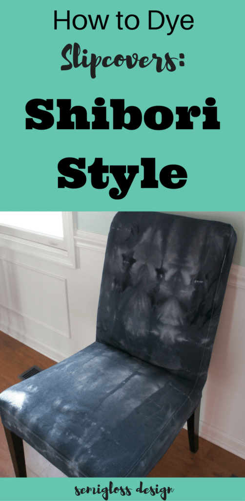 Dyeing Slipcovers Shibori Is Fun Semigloss Design