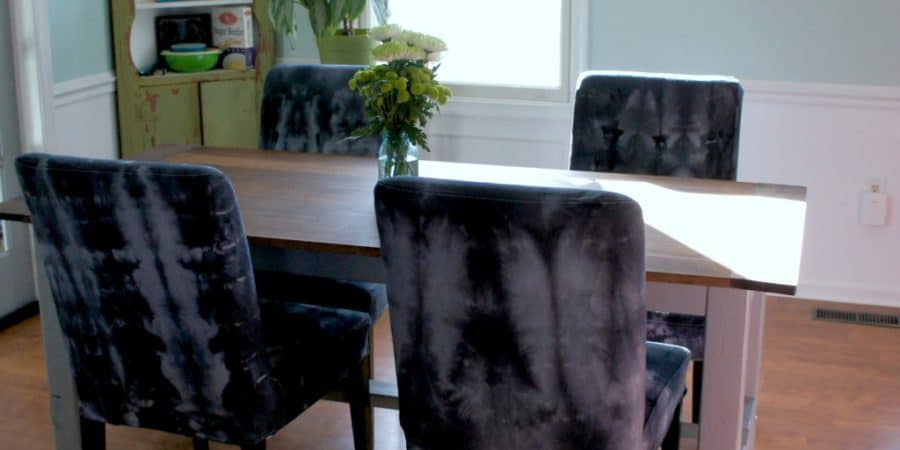 Why settle for generic slipcovers when you can dye them shibori style? Dyeing slipcovers is an easy DIY to add a unique touch to your home.