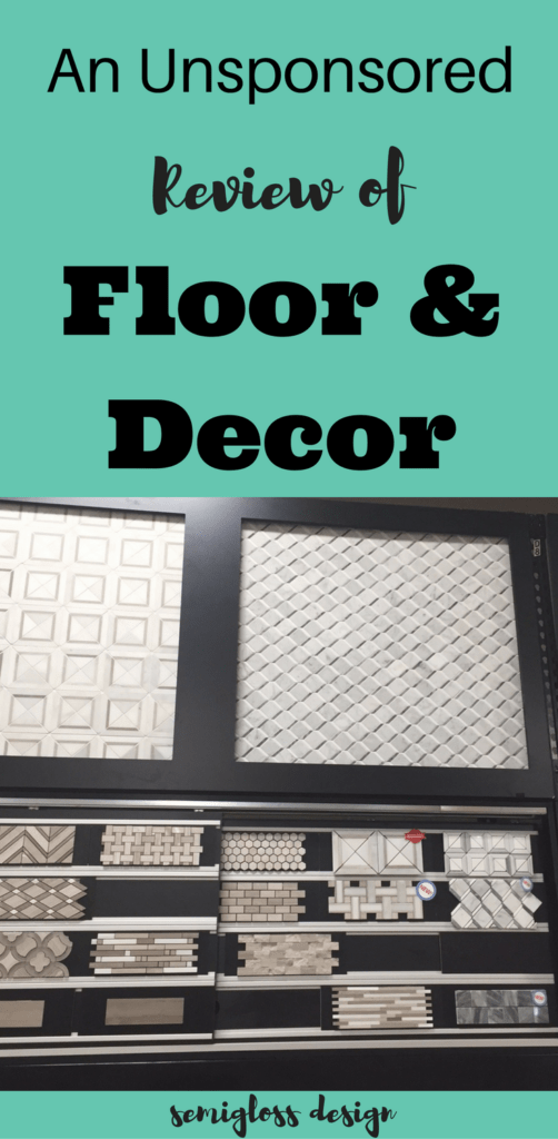 Floor U0026 Decor Might Be The Best Kept Secret For Inexpensive Tile,  Countertops And Flooring