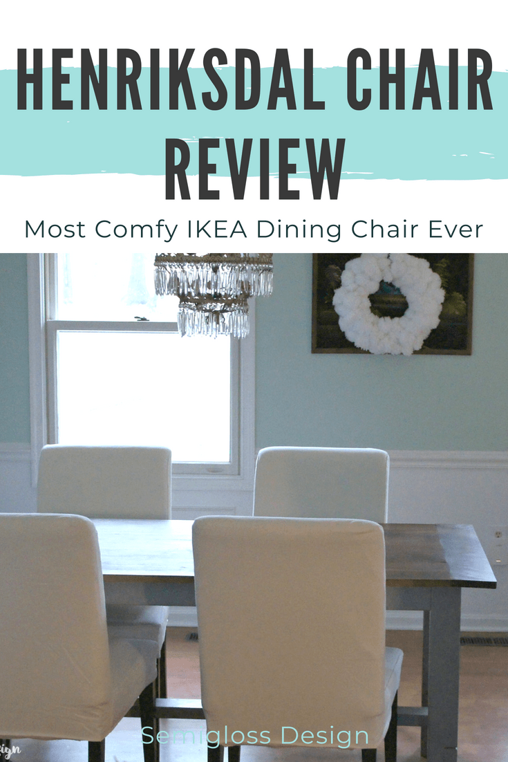 My henriksdal chair review