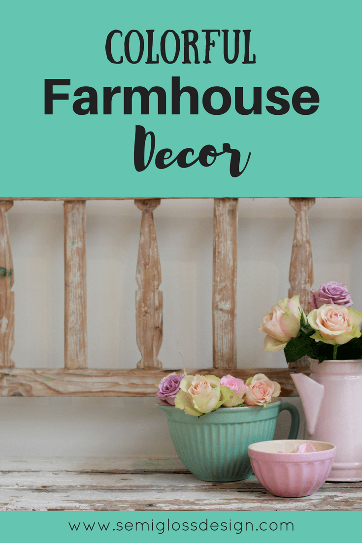 farmhouse decor | colorful farmhouse decor | farmhouse kitchen | colorful farmhouse kitchen decor | vintage decor | vintage kitchen | farmhouse decor on a budget #farmhousekitchen #farmhousestyle #farmhousecolor #colorfulkitchen