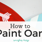 Inspired By Wes Anderson: Painted Oars