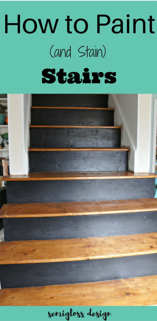 Learn how to paint and stain your stairs. Bring your staircase into this century with paint and stain!