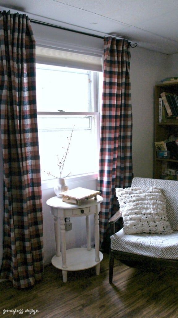 how to sew curtain tutorial