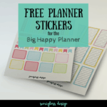 Free Functional Happy Planner Stickers for Spring
