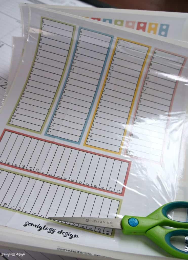 sticker sheet made with sticker maker