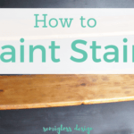 How to Paint (and Stain) Stairs