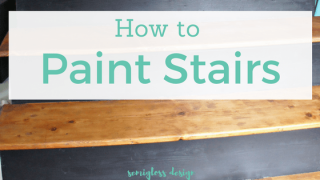 How to Paint and Stain Stairs for an Updated Look