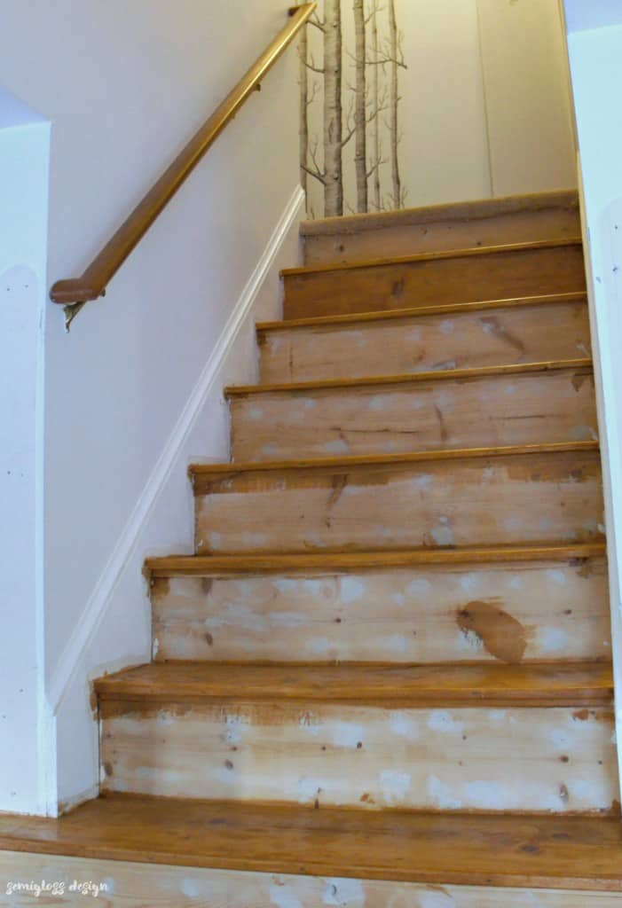 paint and stain stairs | how to paint stairs | how to stain stairs | refinish a staircase | order for painting stairs #paintstairs #staircase #stairmakeover #stairway