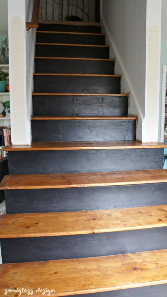 Paint And Stain Stairs | How To Paint Stairs | How To Stain Stairs |  Refinish