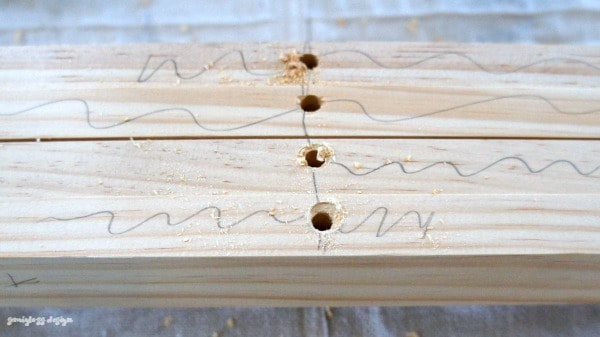 countersink holes in wood