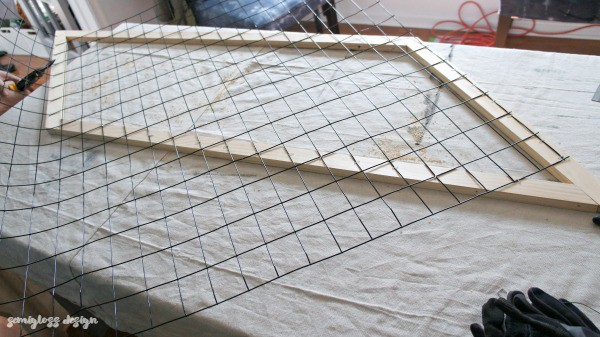 cutting grid fencing to size