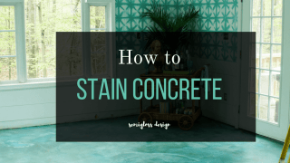 The Beginner's Guide to DIY Stained Concrete Floors