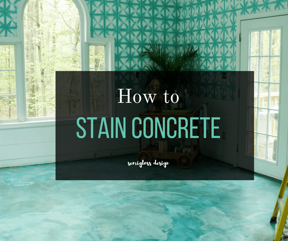 The Beginner S Guide To Diy Stained Concrete Floors