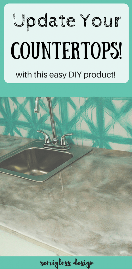 Update your kitchen countertops with countertop epoxy.