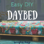 How to Build the Easiest DIY Daybed Ever