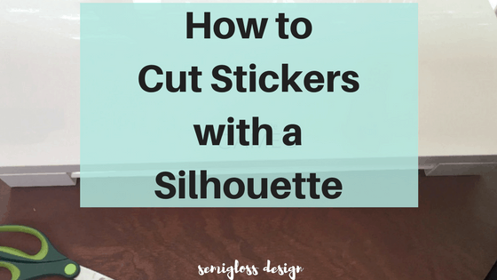 how to cut stickers | silhouette print and cut | how to make planner stickers | silhouette tips | planner stickers